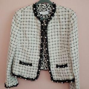Quilted, tweed Escada suit jacket